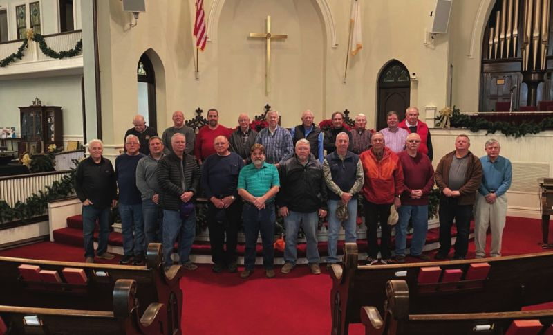 The Methodist Men began 14 years ago as a supportive fellowship. Since then, the group has grown to include ramp building and fundraising.