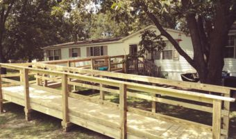 The Methodist Men have built 100 wheelchair ramps in and around Dillon. Donations from the community allow them to continue their mission.