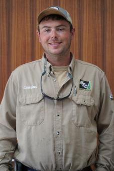 Patrick Cousins in an MEC uniform