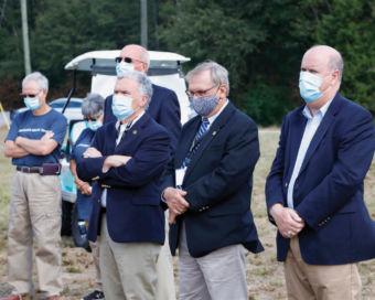 Men wearing masks.
