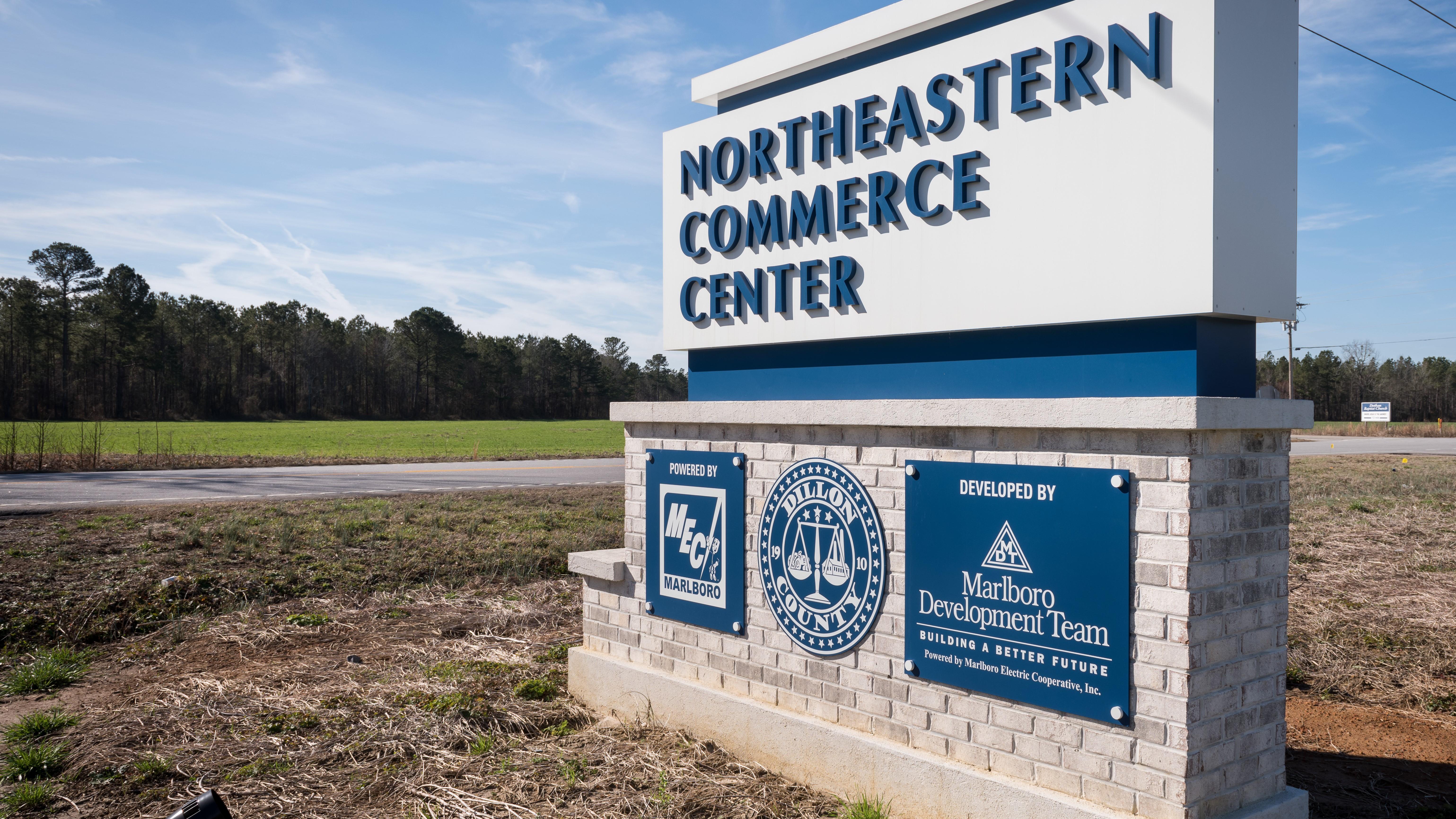 Northeastern Sign