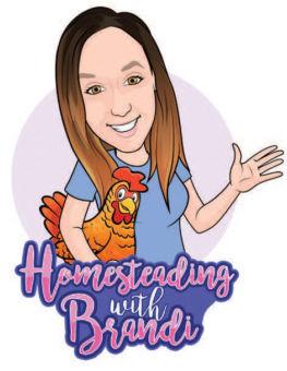 homesteading with brandi logo
